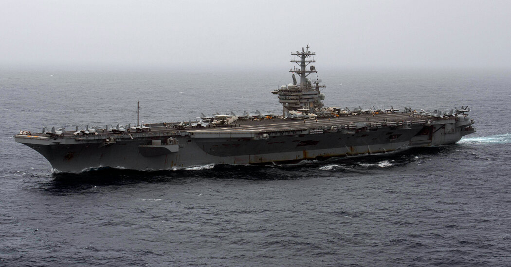 In Reversal, Pentagon Announces Aircraft Carrier Nimitz to Remain in Middle East